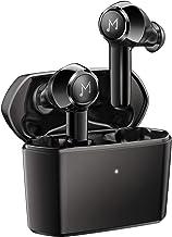 True Wireless Earbuds with 4 Mic, MEBUYZ IPX8 Waterproof Earphones Wireless Charging Case CVC 8.0 Noise Reduction APTX TWS...