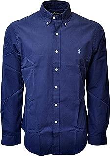 Polo Ralph Lauren Men's Long Sleeve Cotton Stretch Big and Tall Button Front Shirt