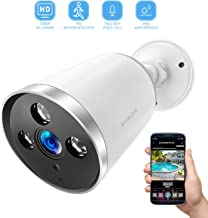 $42 » Outdoor Security Camera, Wireless Surveillance System 1080P HD Bullet Camera with Motion Detection, Waterproof IP66 Night Vision, 2-Way Audio, Theft-Deterrent Alarm with Cloud Storage/TF Slot