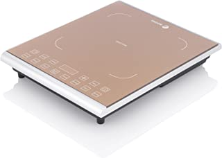 Fagor Portable 1800 Watt Induction PRO Magnetic Cooktop, Caramel – 962010058