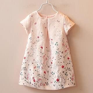 Summer Dress Kids Clothes Girls Party Dress Children Clothing Pink Princess Flower Girl Dresses Hot Sale