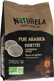 Naturela Café Dosettes Bio Pur Arabica - Compatible Senseo - x36