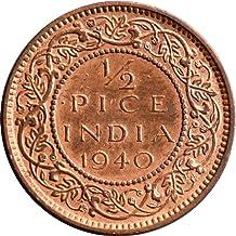 Arunrajsofia British India 1/2 Pice George VI Coin