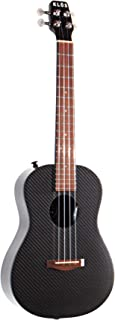 KLOS Guitars Carbon Fiber Acoustic Ukulele Package (Ukulele, Gig Bag, Rain Cover, Strap, Strap Pins)