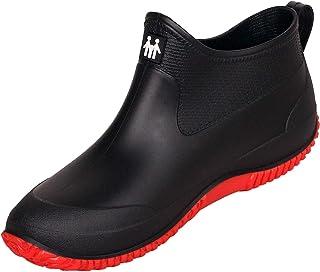 Short wellington boots women's men's rain boots