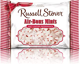 Russell Stover Air-Bons Mint Puffed Peppermints, 12 Ounce Bag (Pack of 12)
