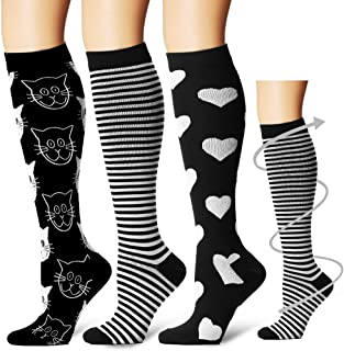 Laite Hebe Compression Socks,(3 Pairs) Compression Sock...