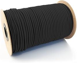 Seilwerk STANKE Corde en Caoutchouc Noire 10 mm 20 m Corde en Caoutchouc Corde Extensible Corde pour Fixer des B/âches