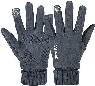 دستکش زمستانی زنانه و مردانه ، دستکش گرم صفحه لمسی برای دوچرخه سواری در حال دویدن اسکی کوهپیمایی