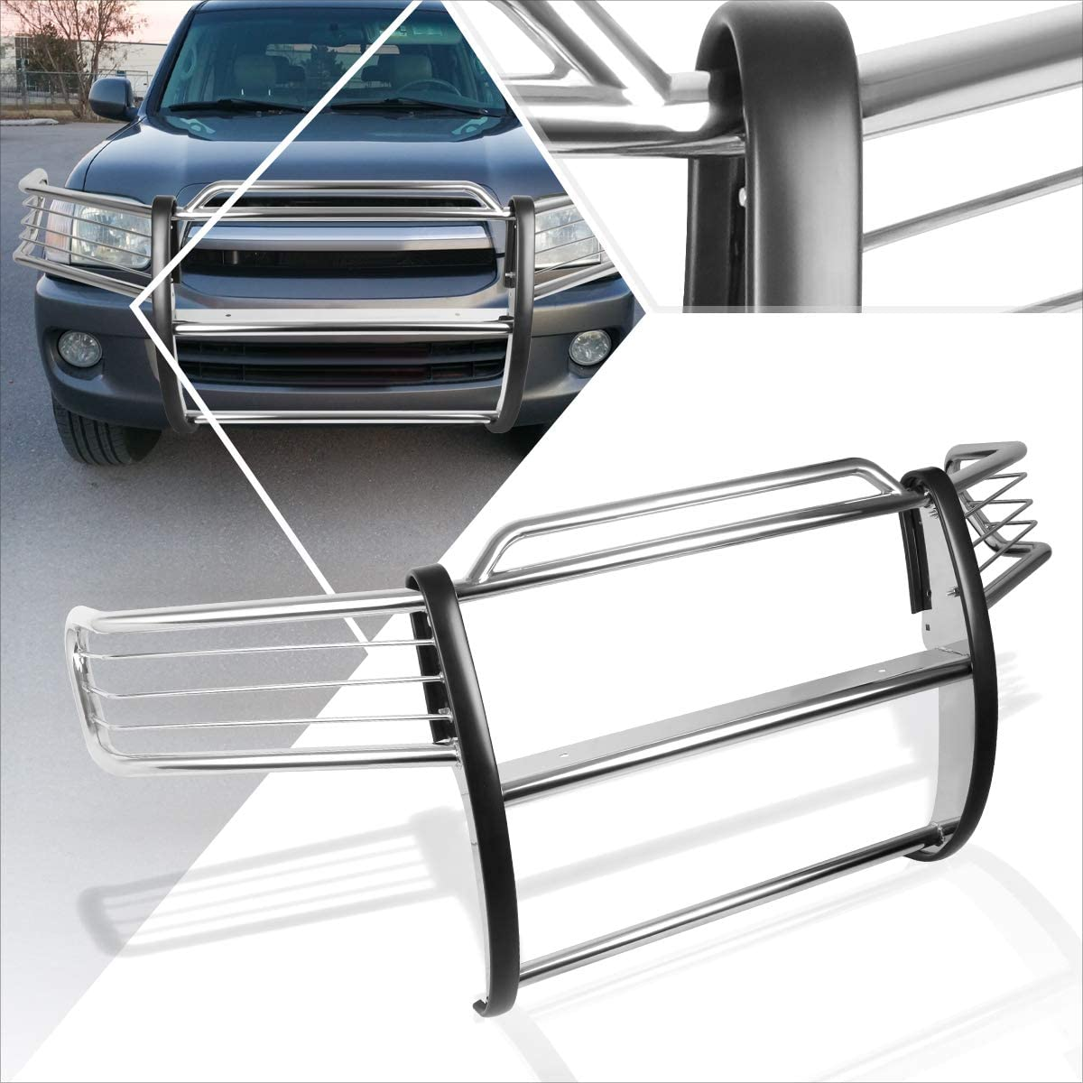 Compatible with Sequoia UCK security SUV Stainless Front A surprise price is realized Steel Bump 01-07