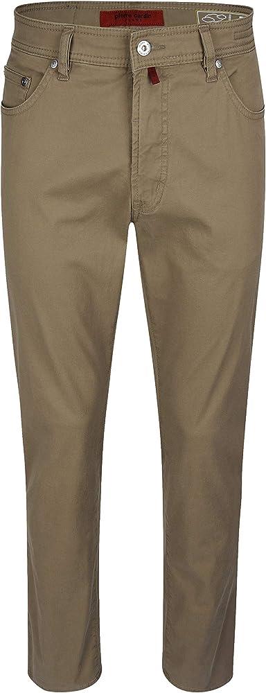 Pierre cardin, jeans da uomo, pantaloni gamba dritta, 98% cotone, 2% elastan 3196-4728-82A