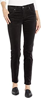 KUT from the Kloth Diana Skinny Corduroy Charcoal 10