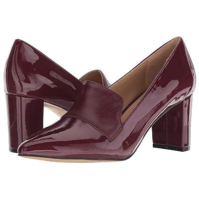 Tahari Trust Heel (Wine Patent) Women