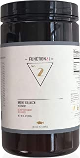 The Functional Company Wild Caught Marine Hydrolyzed Collagen Powder (8 oz) - Unflavored
