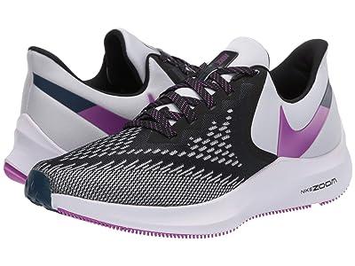 Nike Zoom Winflo 6 (Black/Vivid Purple/Photon Dust) Women