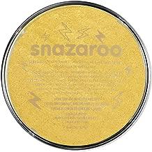 Snazaroo Face Paint, 18ml, M, Metallic Gold