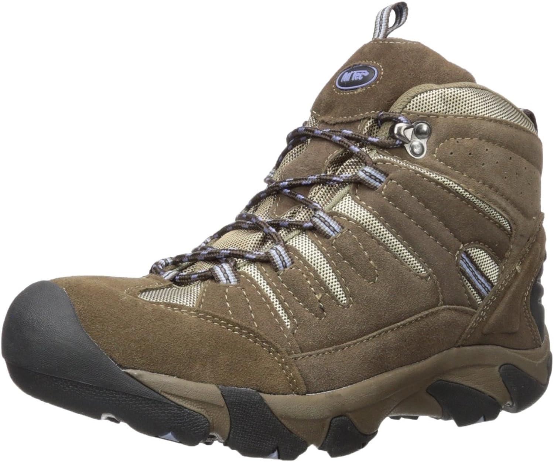 Adtec Women's Composite Toe Hiking Boot & Work Boots, Waterproof, Brown, 11