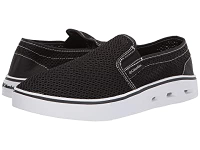 Columbia Spinnertm Vent Moc (Black/White) Men