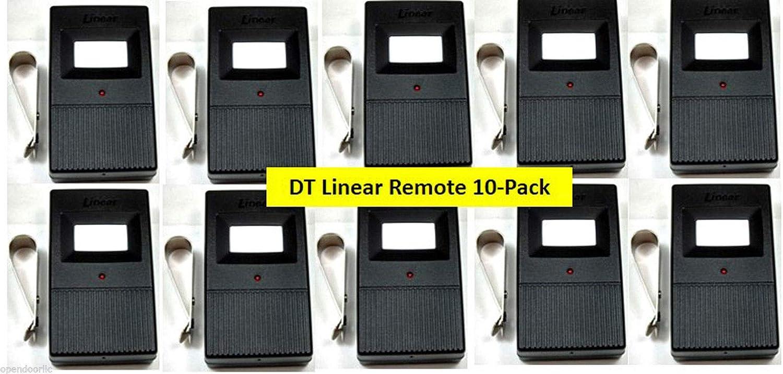 DT Linear Sale Special Price 10PACK Delta 3 Max 58% OFF DTA Garage DTC 1-Button Door Remote DTD