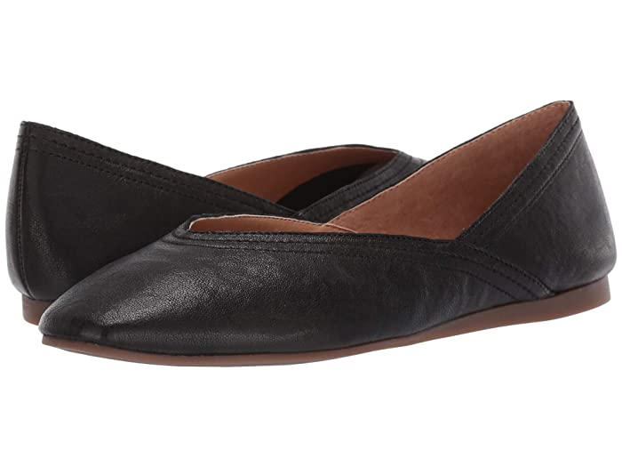 Lucky Brand  Alba (Black) Womens Flat Shoes