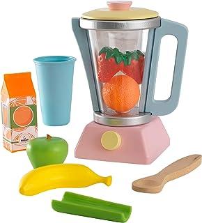 KidKraft 63377 Lekset leksaksset med smoothie-mixer, pastellfärger