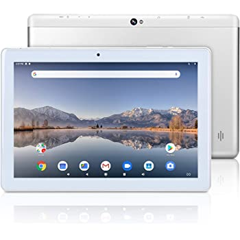 10 inch Android Google Tablet, Android 9.0 Pie, GMS Certified, 2GB RAM, 32GB Storage, Quad-Core Processor, IPS HD Display, Wi-Fi, Bluetooth, GPS