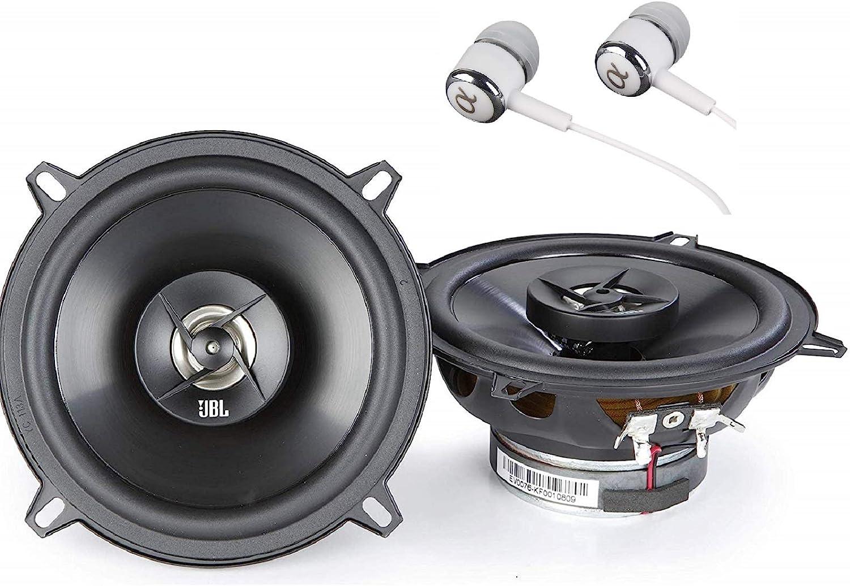 Jbl Stage 502 105 W Max 35 W Rms 5 1 4 Zoll 4 Ohm Stage Series 2 Wege Koaxial Auto Lautsprecher Inklusive Alphasonik Ohrhörern Audio Hifi