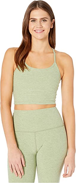 Spacedye Slim Racerback Cropped Tank Top