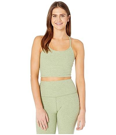 Beyond Yoga Spacedye Slim Racerback Cropped Tank Top (Pale Pine/Glade Green) Women