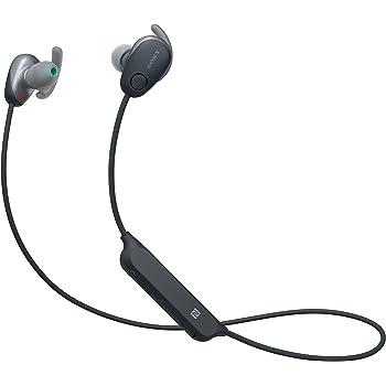 【工場再生品】SONY ソニー WI-SP600N B ブラック Bluetoothイヤホン ワイヤレスノイズキャンセリングステレオヘッドセット [並行輸入品]