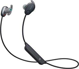 Sony WI SP600N Sport Kopfhörer (Kabellos, Noise Cancelling) schwarz, mit Alexa Integration