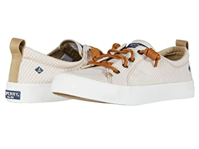 Sperry Crest Vibe Mini Check (Cornstalk/White) Women