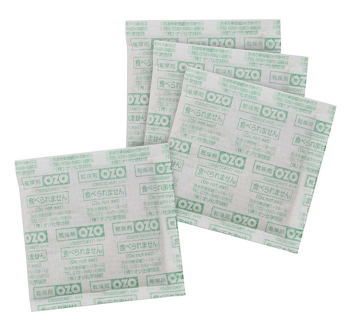 十二ベックス正しい[布団圧縮パック用] OZO 強力吸収乾燥剤 4P (日本製)