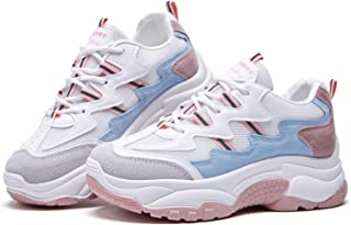 Best chunky sneakers pink Reviews