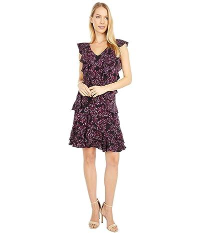 MICHAEL Michael Kors Floral Pop Cascade Dress Women