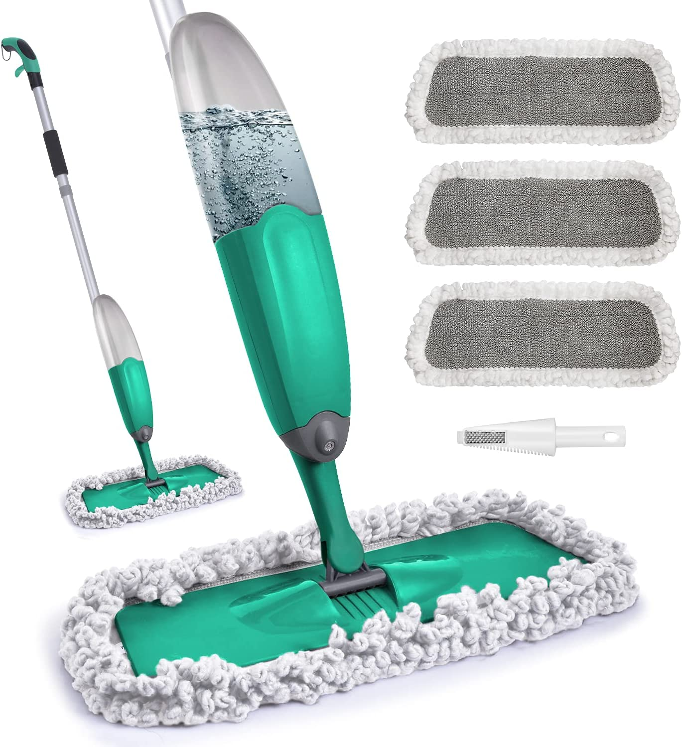 Spray Mop for Baltimore Mall Floor w gift Domi-patrol Cleaning Microfiber