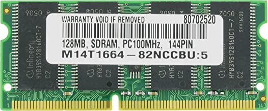 128MB PC100 MEMORY FOR Dell Latitude CPx J650GT