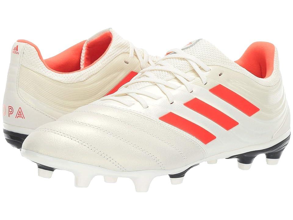 adidas Copa 19.3 FG (Off-White/Solar Red/Core Black) Men
