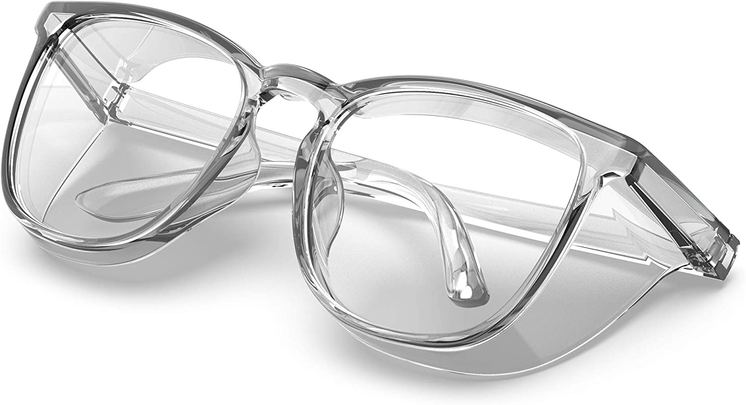 Stylish Safety Glasses Clear G Anti-Scratch Ranking TOP8 Anti-Fog Protective Topics on TV