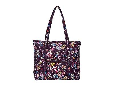 Vera Bradley Iconic Vera Tote (Indiana Rose) Tote Handbags