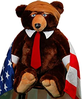 trumpy bear with blanket