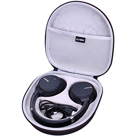 LTGEM EVA Hard Case for Sony WHCH700N or Sony WHCH710N Wireless Bluetooth Noise Canceling Over The Ear Headphones - Travel Protective Carrying Storage Bag