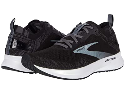 Brooks Levitate 4 (Black/Blackened Pearl/White) Women