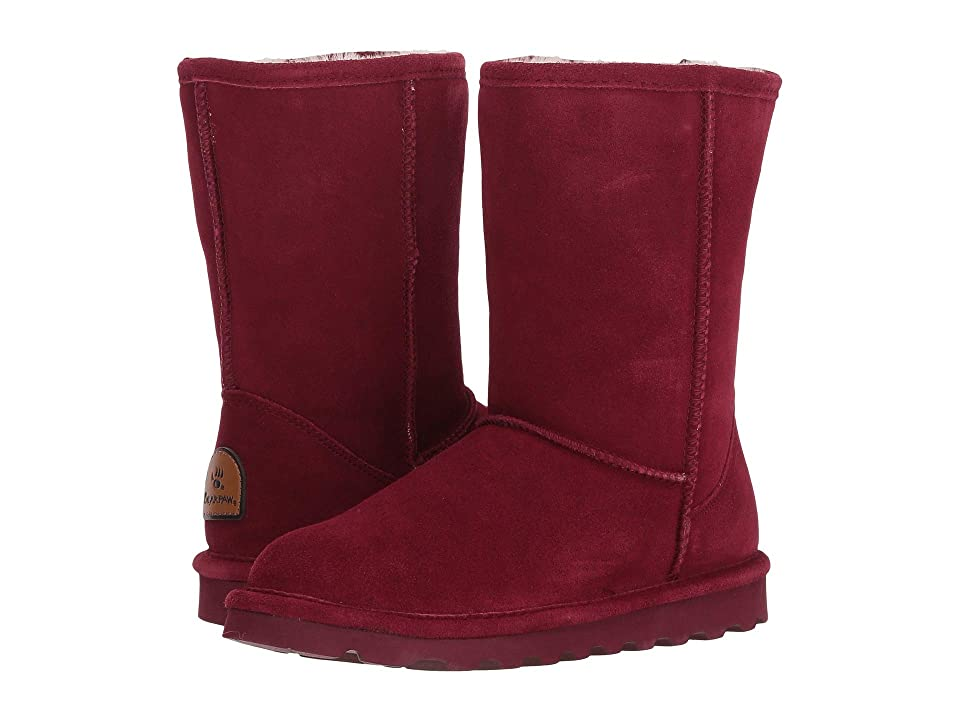 Bearpaw Elle Short (Bordeaux) Women