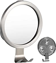 Fogless Shower Mirror,Fog-Free Bathroom Mirror with Razor Hook and Powerful Lock Suction
