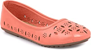 YAHE Women's Casual/Formal Faux Leather Ballerina/Belly/Ballet Flat Shoes Y-2283