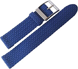 Eulit Palma Pacific 20mm Royal Blue Perlon Watch Strap