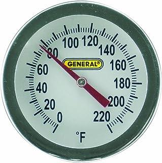 ابزارهای عمومی PT2020G-220 آنالوگ خاکی و دماسنج دیجیتال کمپوست ، لانگ استیل 20 اینچ پروب ، 0 تا 220 درجه فارنهایت (-18 تا 104 درجه سانتیگراد) محدوده