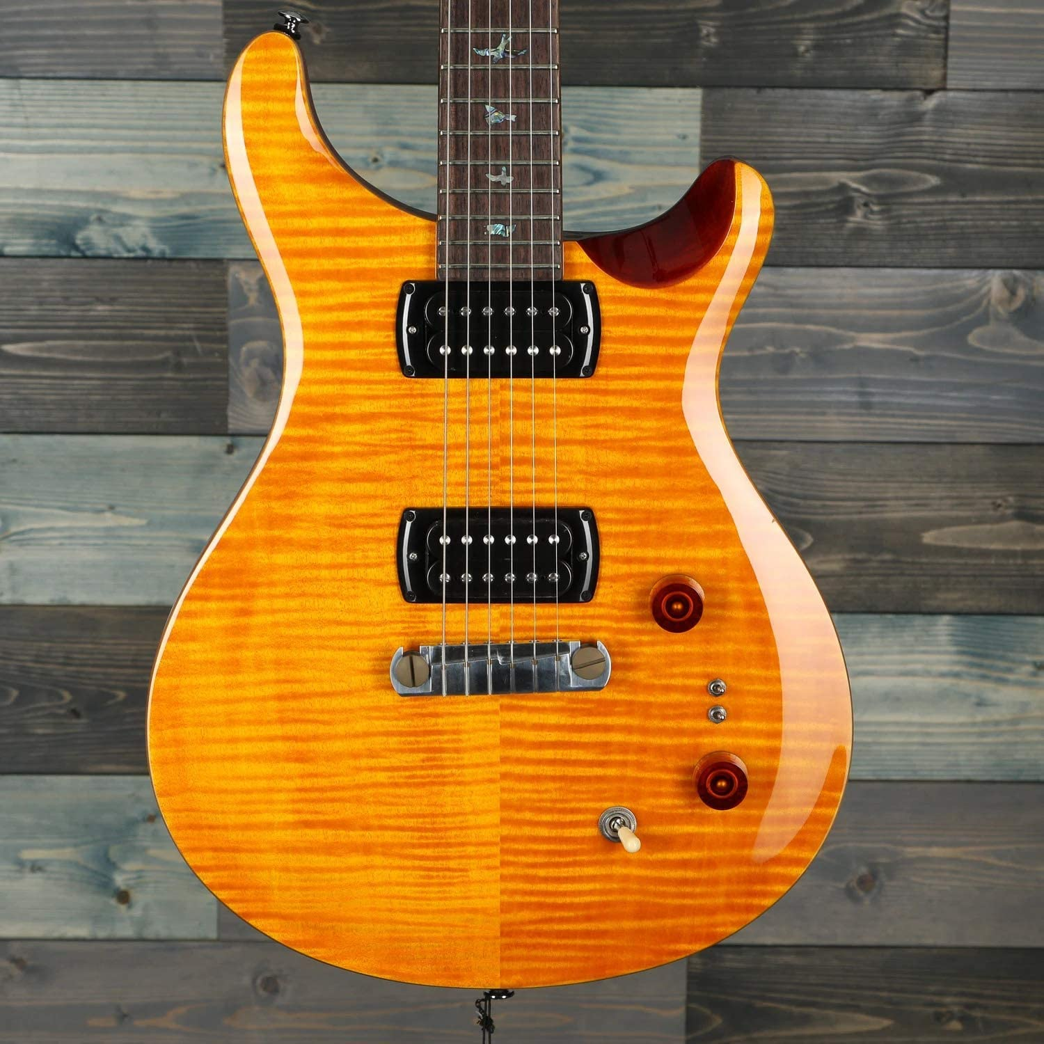 PRS SE Paul's Guitar Figured Maple Back Tobacco Amber Top Now free shipping w Gig Sales of SALE items from new works
