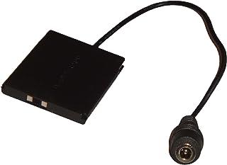 vhbw DC acoplador para DR-90 para batería NB-11L para cámara Canon Ixy 220F, 420F, Ixus 125HS, 132, 135, 140, 240HS, PowerShot A2200, A2300.